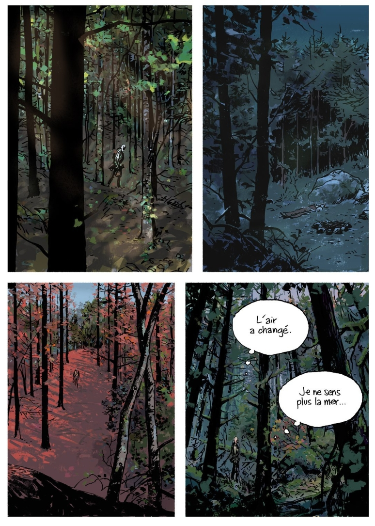 Wilderness Graphic Novel Page